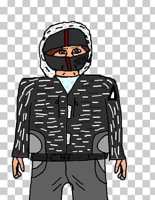 Outerwear Facial Hair Cartoon Jacket PNG