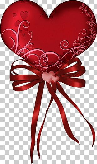 Valentine's Day Love Heart Party February 14 PNG