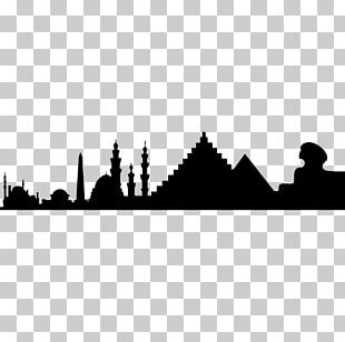 Cairo Wall Decal Sticker Silhouette PNG