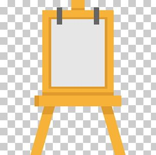 Easel Painting Art Canvas PNG
