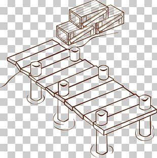 Dock Coloring Book Pier Drawing PNG