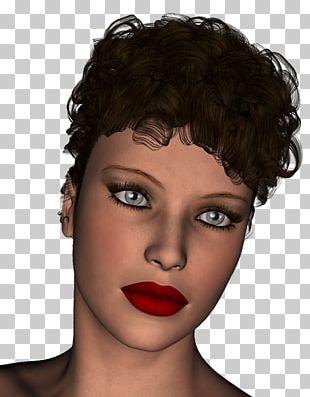 Eyebrow Hair Coloring Eyelash Black Hair Beauty PNG