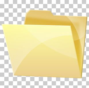 Paper Yellow Angle Font PNG
