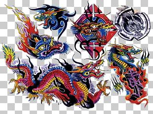 Flash Tattoo Artist Color PNG