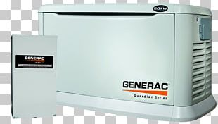 Standby Generator Generac Power Systems Electric Generator Transfer Switch Emergency Power System PNG