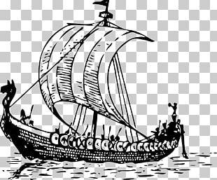 Viking Ships PNG