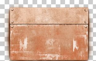 Copper Wood Stain Material Plywood PNG