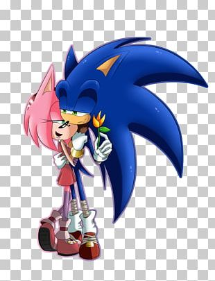 Valentine's Day Sonic Boom Love PNG