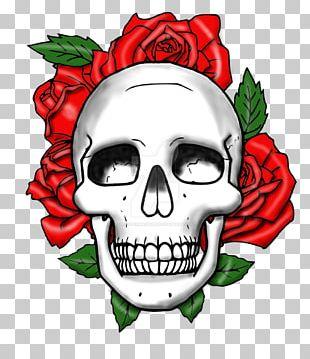 Skull Rose Png Images Skull Rose Clipart Free Download