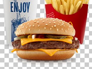 McDonald's Quarter Pounder Hamburger Cheeseburger Fast Food McDonald's Big Mac PNG