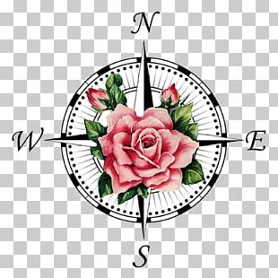 Compass Rose Tattoo PNG