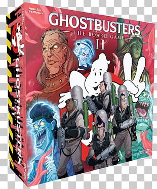 Ghostbusters II Cryptozoic Entertainment Ghostbusters: The Board Game Ghostbusters: The Video Game Louis Tully PNG
