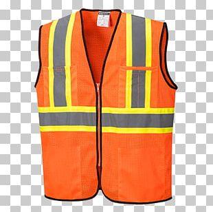 Gilets T-shirt High-visibility Clothing Waistcoat PNG
