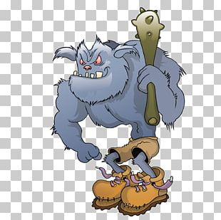 Monster Cartoon Character PNG