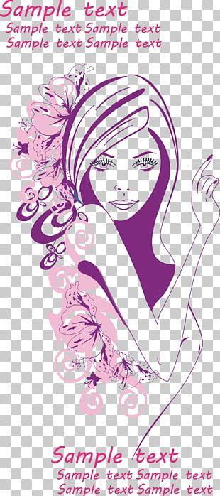 Euclidean Art Woman PNG