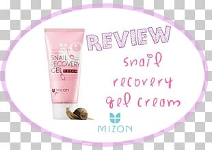 Lotion MIZON Snail Recovery Gel Cream Skin PNG