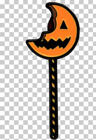 Trick-or-treating Michael Myers Lapel Pin Halloween PNG