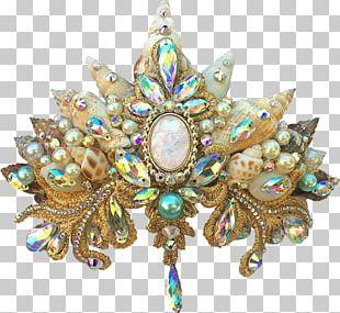 Mermaid Crown Ariel Siren Pixie PNG