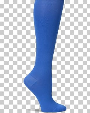 Tights Blue Sock Compression Stockings Hosiery PNG