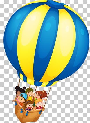 Flight Hot Air Balloon PNG