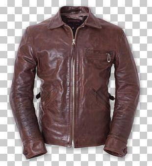 Leather Jacket United States Flight Jacket PNG