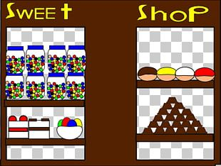Confectionery Store Candy Shopping PNG