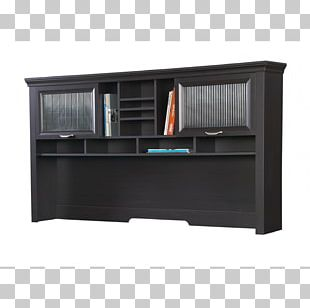 Desk Furniture Table File Cabinets Hutch PNG