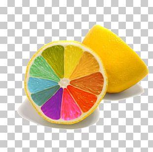 Lemon Colorful Rainbow Desktop High-definition Television 1080p PNG