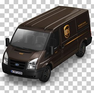 Compact Van Model Car PNG