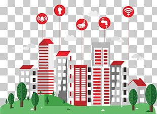 Smart City Building Automation PNG