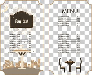 Cafe Menu Brunch Restaurant Food PNG