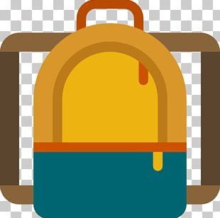 Backpack Baggage Skateboard Free Icon PNG
