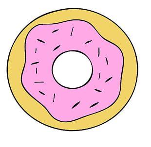 Donuts Cartoon Computer Icons PNG