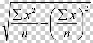 Function Number Mathematics Regression Analysis Standard Deviation PNG