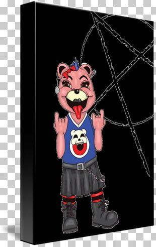 Mascot Costume Punk Rock Character Coasters PNG