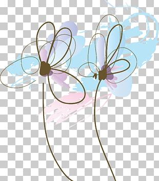 Drawing Flower PNG