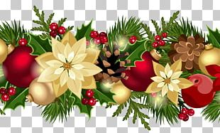 Garland Christmas Decoration Christmas Ornament PNG
