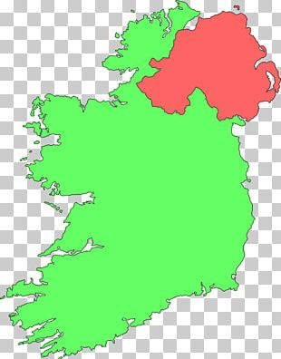 Ireland Map PNG