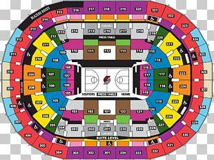 Moda Center Portland Trail Blazers Rose Quarter NBA Seating Assignment PNG