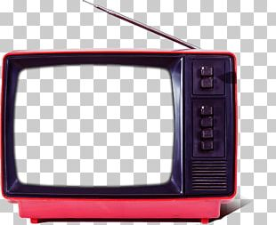 Television Set Retro Television Network PNG