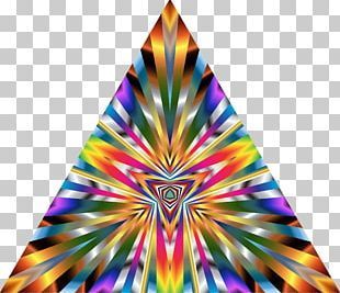 Triangle Abstract Art PNG
