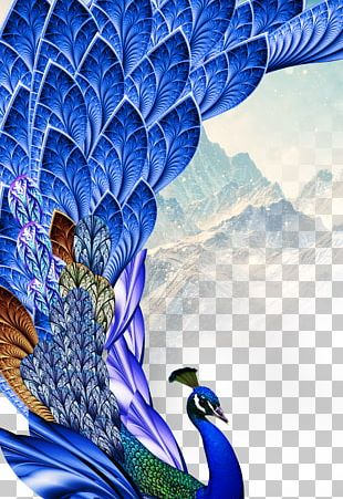 Paper Peafowl Feather Bird PNG