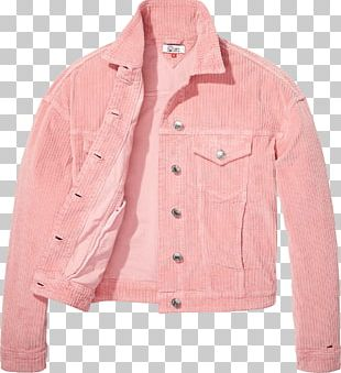Jacket Pink M Sleeve Button Barnes & Noble PNG