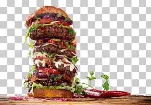 Hamburger Cheeseburger Buffalo Burger Fast Food French Fries PNG