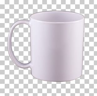 Mug Coffee Cup Polymer Plastic Sublimation PNG