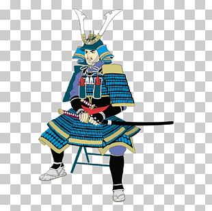 Japan Samurai Illustration PNG