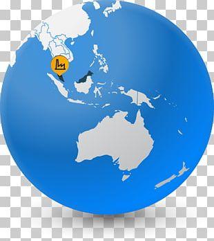 Australia Globe World Map Earth PNG