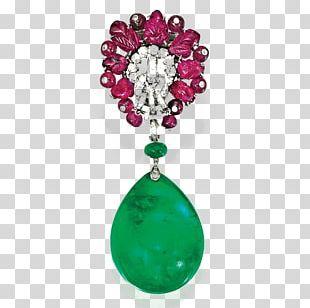 Earring Emerald Brooch Diamond Jewellery PNG