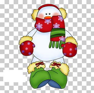 Snowman Scarf PNG
