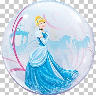 Mylar Balloon Cinderella Birthday Disney Princess PNG